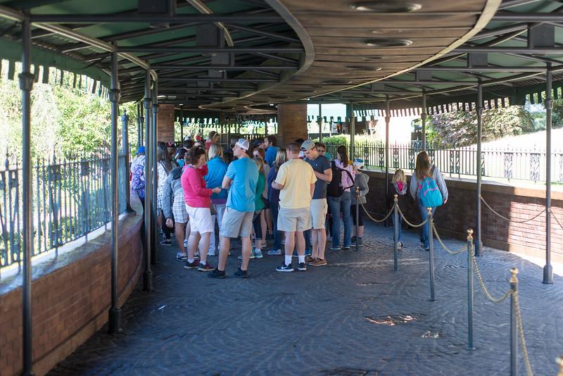 Haunted Mansion Longer Line - Magic Kingdom Walt Disney World