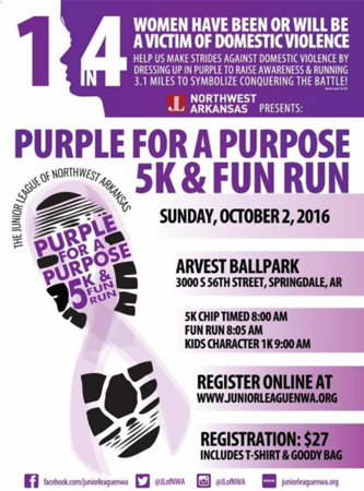 PURPLE FOR A PURPOSE 2016