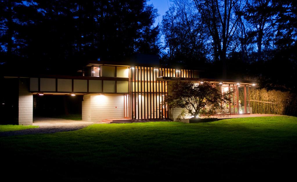 . Duncan Scott/DScott@News-Herald.com Frank Lloyd Wright\'s Louis Penfield House in Willoughby Hills.