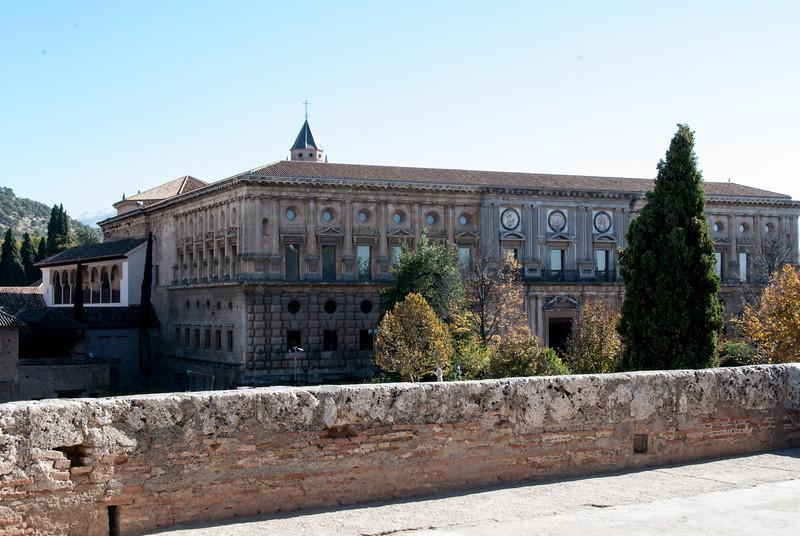 La Alhambra - Palacio de Carlos V