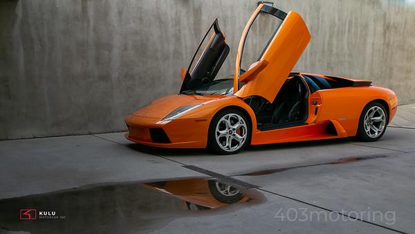 '03 Murcielago Coupe - Arancio Atlas