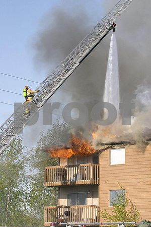 Boundary Manor Apartments Fire, Anchorage, Alaska - May 9, 2005