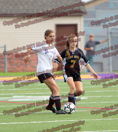 AHS Girls Varsity Soccer vs Troy High 9-21-2011