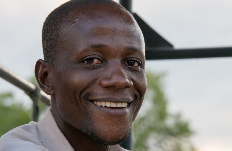 Gerald, a guide at Selous Impala Camp