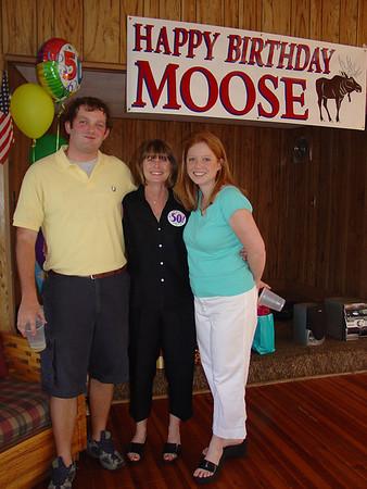 June 2005.Moira's 50th