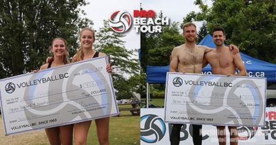 PRO BEACH TOUR WINNERS