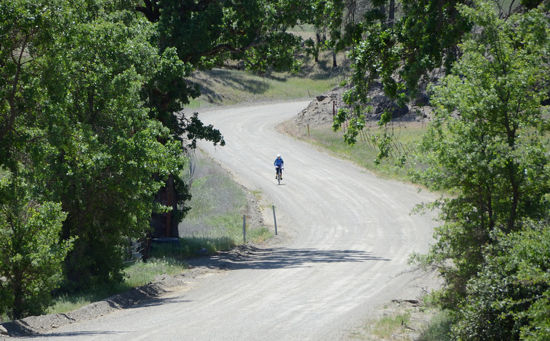 Stalking Joni in Big Canyon (to illustrate how great that road is...)