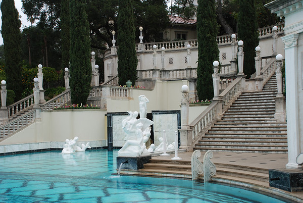 February 2008 California Trip - Hearst Castle Visit