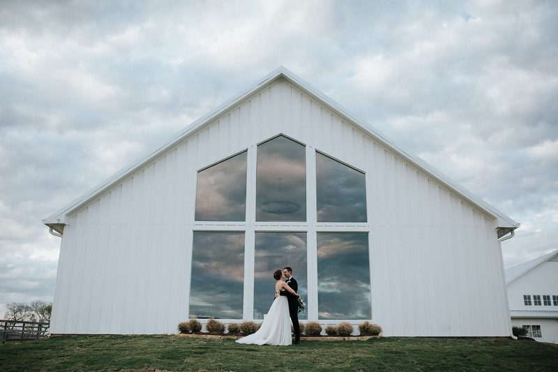Greenery-Filled Wedding at The Farmhouse
