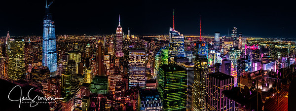 New York Night Skyline | Sep 2019