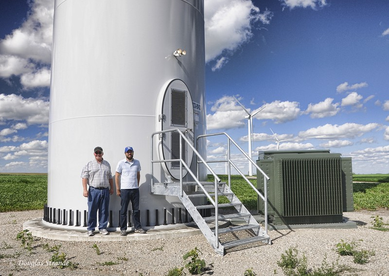 2010   Brad & Paul at Turbine Base