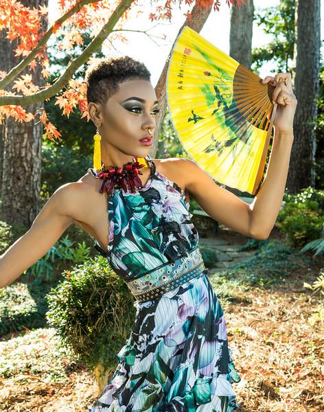 Geisha Samurai Photoshoot