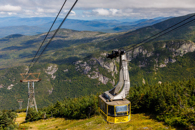 Cannon Mountain Tramway, Franconia Notch State Park