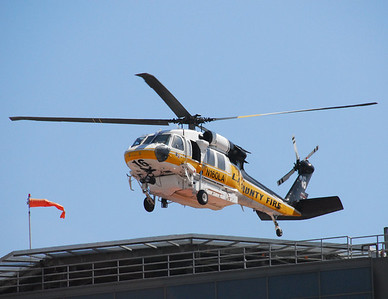 Copter 16 at UCLA Medicial Center