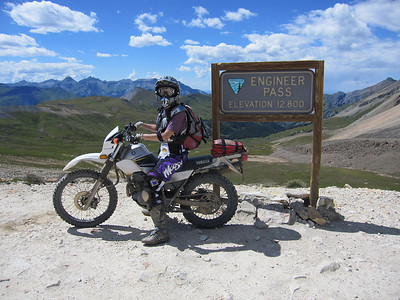Eng Pass/California Pass, CO - 8/17/2010