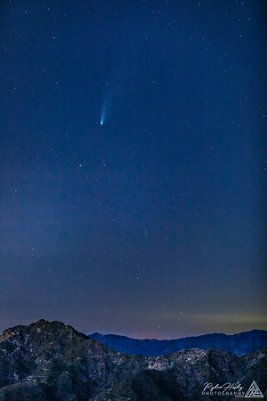 Comet Neowise from Mount Wilson - 07-22-2020