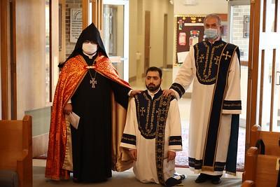 Ordination of Fr. Guregh Hambardzumyan (Apr. 9-10, 2021)