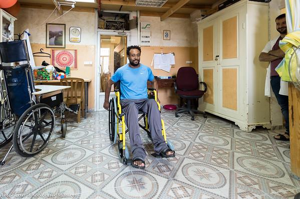 Caritas Jerusalem Wheelchair Deliveries