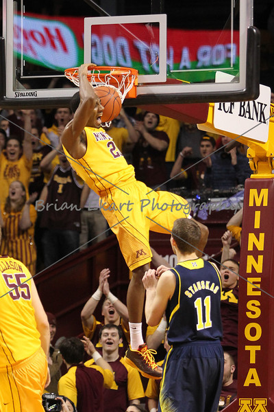 MN Gophers vs Michigan Wolverines - 1/2/14