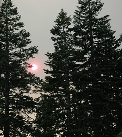 29-Aug-09 -Tuolumne, Cliffs, Red Sun, Yosemite