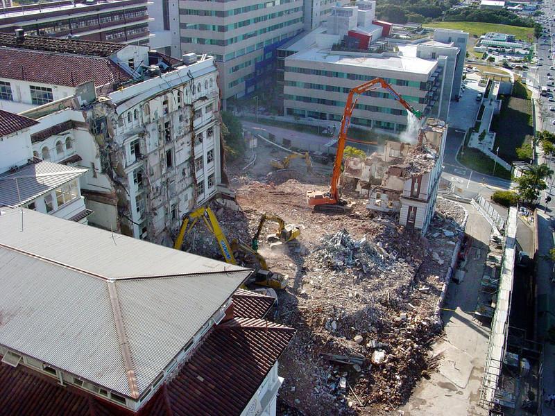 RBWH Hospital demolition