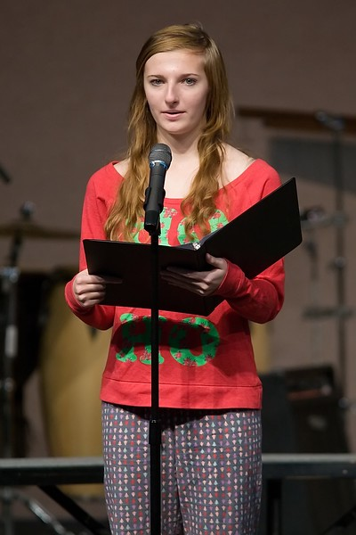 SRCHS Christmas Chapel Program.
