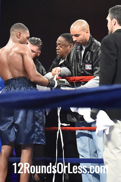 Bout #2  Andreas Kamouyerou, Venetia -vs- Malik Jackson, Newark, NJ,  Jr. Middleweights