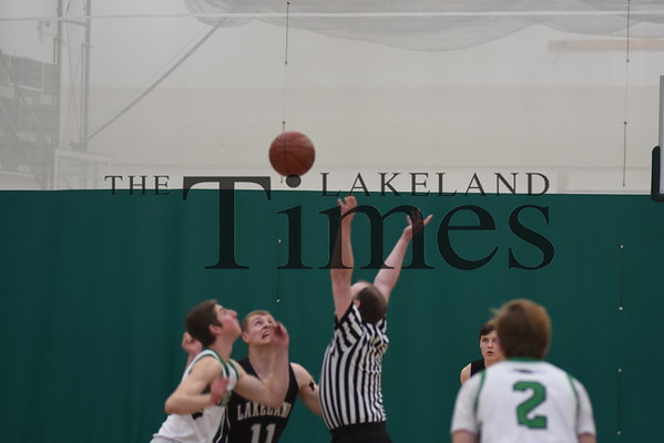 Boys' Basketball at Rhinelander 1/25/19