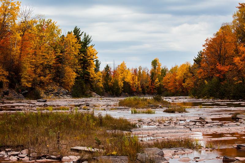 Big Iron River Fall