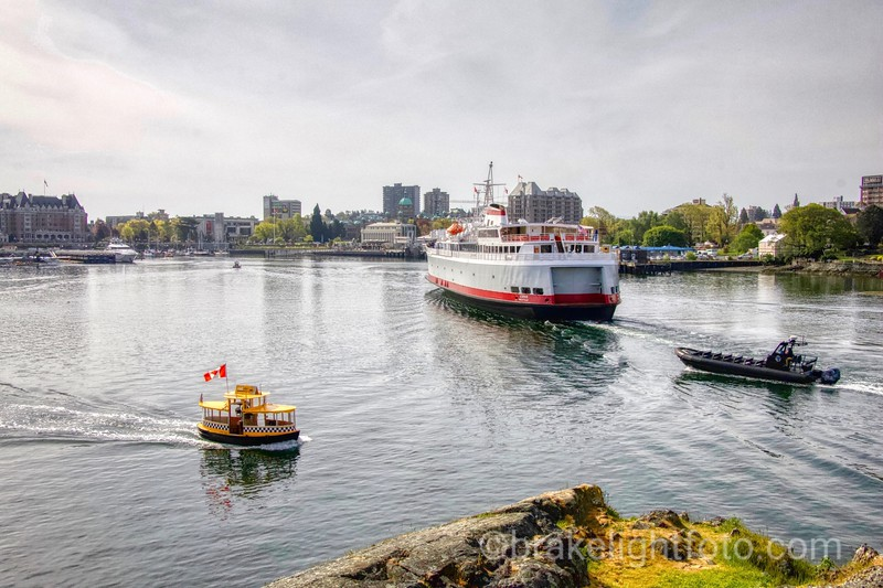 Busy Inner Harbour