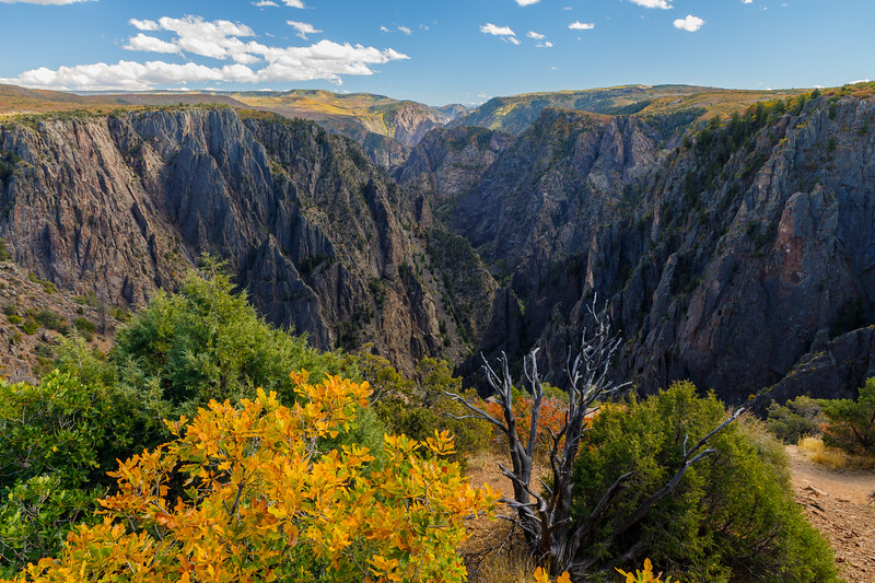 South Rim view,  Black Canyon of the Gunnison National Park