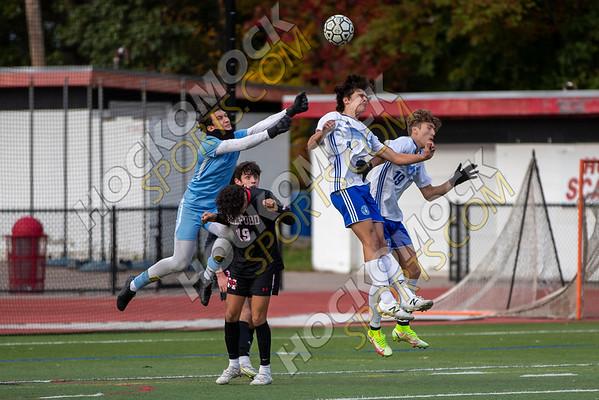 Milford-Attleboro Boys Soccer - 10-18-21