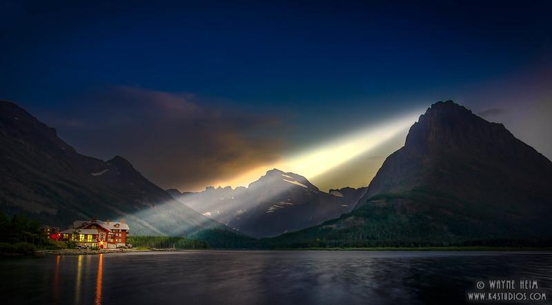 Mountain Lodge     Photography by Wayne Heim