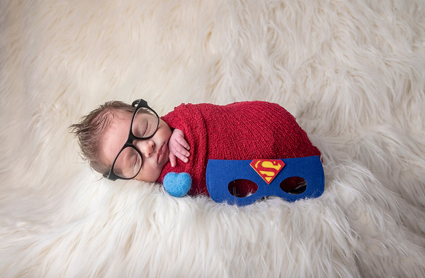 Beckett Nash Rivera Newborn Session