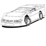 Dirt LateModel Racing (1987-1992)