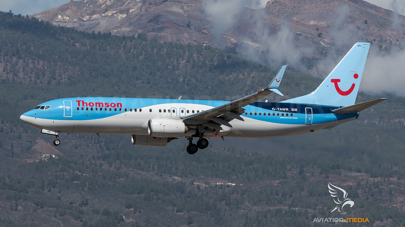 Thomson / Boeing B737-8K5 / G-TAWR