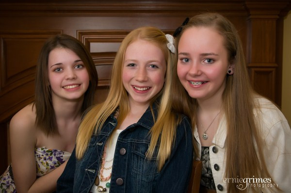 Ally & Friends Pre-Dance Photographs
