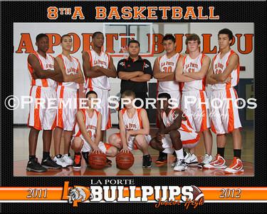 2011 La Porte Junior High Boys Basketball