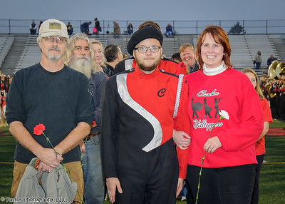 CHS Band Senior Night