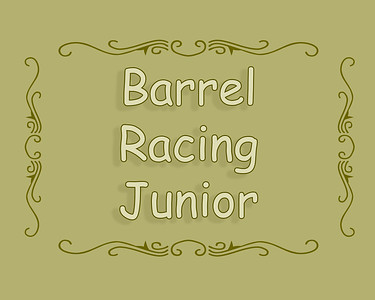 Raymond Slack 2019 Barrel Racing Junior