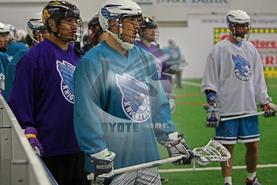 11/21/2015 - Rochester Knighthawks Training Camp - Total Sports Experience, East Rochester, NY