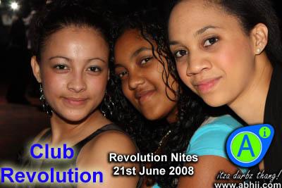 Club Revolution - 21st June 2008