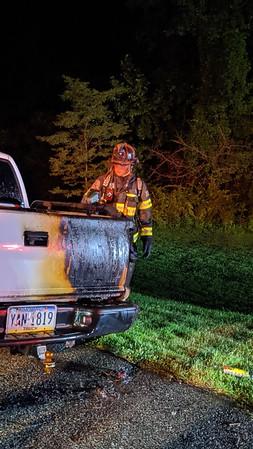 Vehicle Fire - East Brandywine Twp