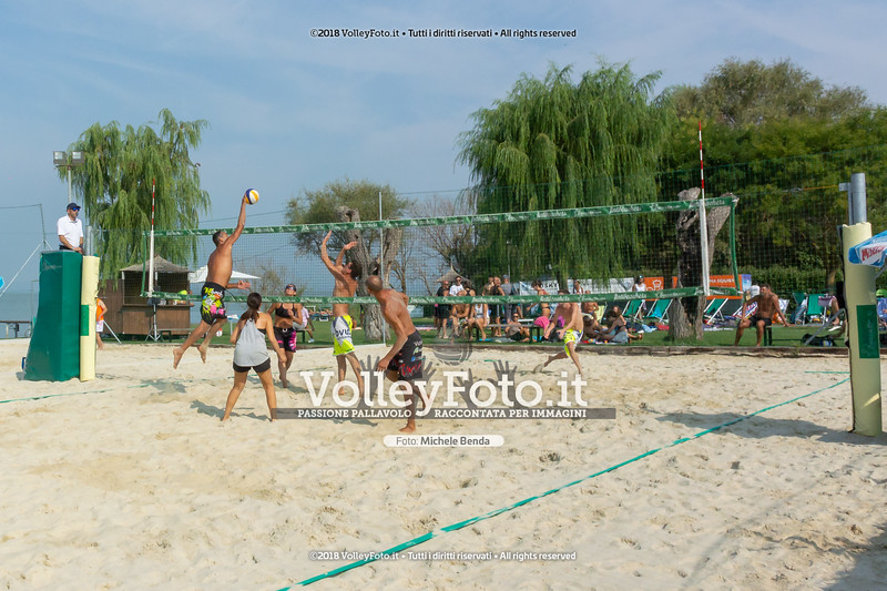 presso Zocco Beach , 25 agosto 2018 - Foto di Michele Benda per VolleyFoto [Riferimento file: 2018-08-25/_DSC2320]