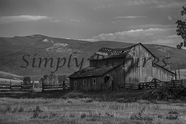 Old Barns in Montana