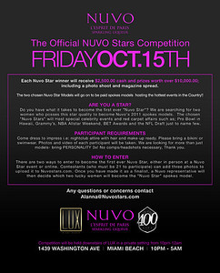 """NUVO Stars Modeling Competition"""
