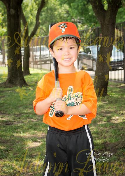 Rookie Grasshoppers - PCYMCA Rookie Tball Spring 2016