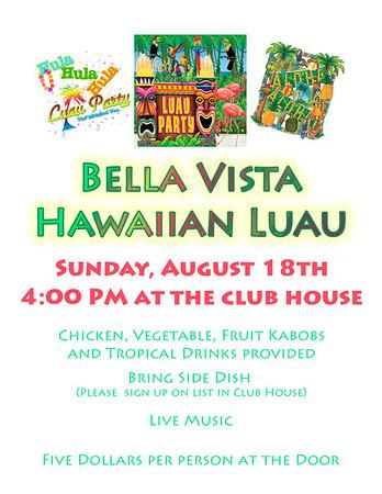 Bella Vista Get Togethers