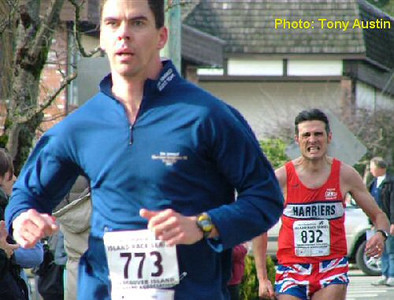 2004 Mill Bay 10K - Walter Cantwell and Andrew Green