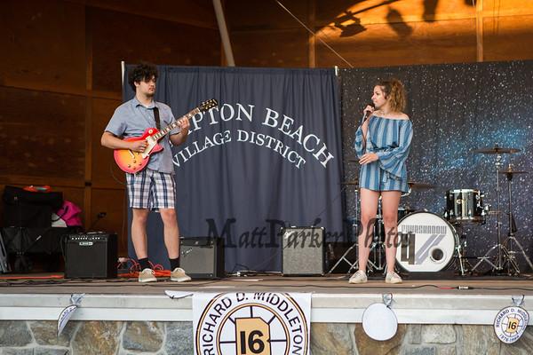"""2019-7-16 """"All You Got Tour"""" Hampton Beach Seashell Stage."""